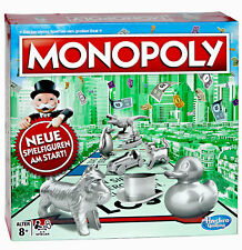 ♥ MONOPOLY CLASSIC SPIEL 8+ ○ BRETTSPIEL FAMILIENSPIEL ○ FIGUREN  HASBRO C1009 ♥