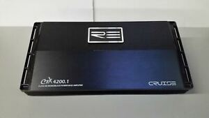 RE Audio CTX4200.1 1-Channel Amplifier - FACTORY REFURBISHED