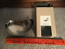 GEORG JENSEN STAINLESS  SMALL SIZE LEAF BOWL NEW IN BOX