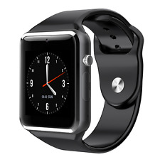 Montre connectée Bluetooth GSM SIM SMARTWATCH  POUR iPhone Samsung WhatsApp .