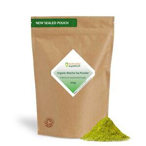 Organic Matcha Tea Powder Ceremonial Grade from Organic Matcha Green Tea Leaves