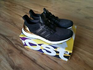 Adidas Ultra Boost 2.0 Olympic Gold Medal Black Leather UK10.5 US11