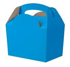 100 Azul Brillante Fiesta Cajas Para Comida ~ Cumpleaños Almuerzo Comida Snack