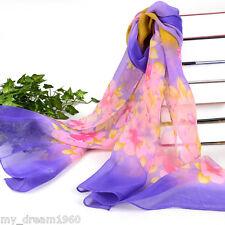 Fashion Women's Warm Soft Long Stole Chiffon Neck Shawl Wraps Scarf Best Gift