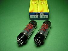 2 x e34l JJ Factory matched pair-la più potente TUBO el34 - > tube amp