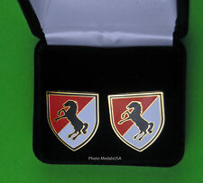 11Th Armored Cavalry Regiment Army Cuff Links 11th Acr cufflinks