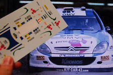 "DECAL CALCA 1/18 CITROEN XSARA WRC ""OMV"" X.PONS RALLY ARGENTINA 2005"