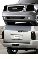 Fits 07-14 Yukon XL GTS Acrylic Smoke Headlight Taillight Covers Protection 4pc