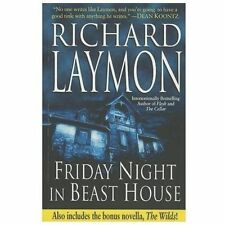 Friday Night in Beast House by Richard Laymon (2013, Paperback)