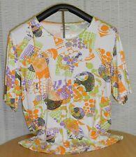 Mehrfarbige Damenblusen, - Shirts aus Viskose
