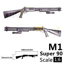 """Escala 1/6 BENELLI M1 Super 90 Escopeta Pistola de armas para 12"""" Figura De Acción Soldado"""