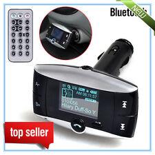 "1.5""LCD Car Kit Bluetooth MP3 Player MMC USB Remote FM Transmitter Modulator NEW"