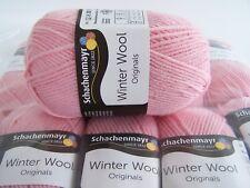 500g (37,00€/kg) Schachenmayr Winter Wool - 100% Schurwolle - Fb035 rosa