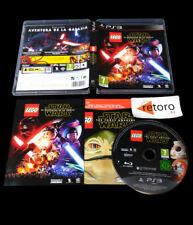 LEGO STAR WARS EL DESPERTAR DE LA FUERZA PAL-España Sony Playstation 3 PS3 play3