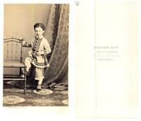Denisse, Bordeaux CDV vintage albumen carte de visite,  Tirage albuminé  6,5