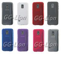 Soft TPU Gel  Case Cover Skin For Samsung Galaxy S5 mini,  G800F G800A