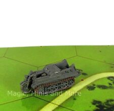 Early War SD KFZ 2 MOTORCYCLE HALF-TRACK #39 Axis&Allies 1939-1941 miniature
