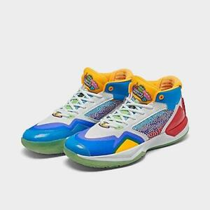 NEW BALANCE KAWHI 1 X JOLLY RANCHER Bright Red Vision Blue BBKLSMT1-610