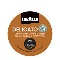 Lavazza Coffee Rivo Pack Espresso Delicato Keurig Rivo Pods 90 Count 5 18 ct box