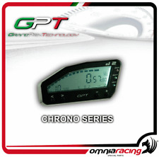 Chronomètre avec prise signal ecu alimentation 12 volts ( a demande)