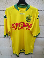 Maillot FC NANTES Kappa moulant supporter foot collection L