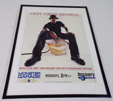 Monster Garage 2002 Framed 11x14 ORIGINAL Advertisement Jesse James