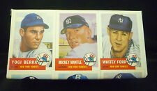 "1991 Topps - ""1953 ARCHIVES"" Baseball Complete Set of 337 Cards with Custom Wrap"