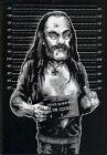 Lemmy Line-up Patch Motorhead Sodom Saxon Midnight Bulldozer Warfare Inepsy Tank