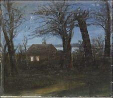 1800-1899 Gemälde (1900-1949) mit Expressionismus auf Landschaft & Stadt