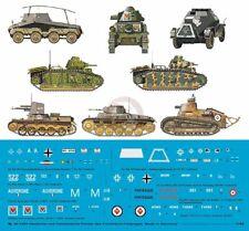 Peddinghaus 1/48 German & French Tank & Vehicle Markings Invasion of France 3362