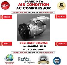 DENSO AIR CONDITIONING AC COMPRESSOR 3W8319D629AB for JAGUAR XK 8 4.0 4.2 2002->