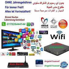 Arabisch IP-TV Box+Sport~Frei für Immer 100% Ohne Abo &Gebühren.Garantie..!