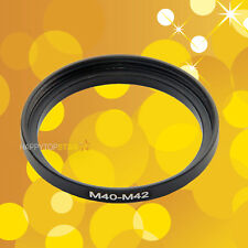 40mm to M42mm 40 0.75- M42-1mm Male to Female Step-Up Lens Coupling Ring Adapter