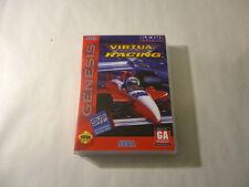 Virtua Racing CUSTOM SEGA GENESIS CASE (NO GAME)