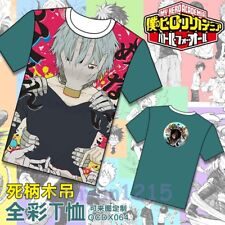 New Anime Summer My Hero Academia Full color Tee Casual Top T-Shirt M-XXL