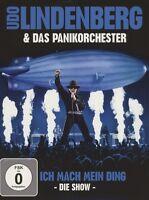 UDO & DAS PANIK-ORCHESTER LINDENBERG -ICH MACH MEIN DING-DIE SHOW 2 DVD+2CD NEW+