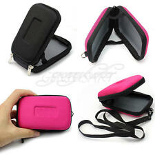 Universal Cyan Schutz Hardcase Tasche Schutztasche Schutzhülle f. Digital Kamera