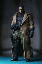 Custom 1/12 Scale Trench coat + binoculars designed for Mezco figure