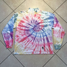 Rare Vintage 80s 90s Nuovo New Forces Tie Dye Long Sleeve Pullover XL VTG USA