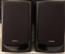 Aiwa speakers (2) 3 way Bass Reflex Speaker System 40 W model sx-N3200