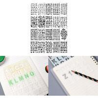 Schablonen Airbrush Schablone Stencil Quadrate 2 # FS 0838