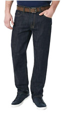 Buffalo David Bitton Mens Driven-x Basic Straight Stretch Jeans 34x30 Dark Wash