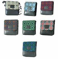 Yfenni Leather - Small Welsh Tapestry Cross Body Bags