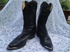 RODEO DRIVE COWBOY BOOTS WOMEN BLACK 7.5 M