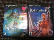 2 Playstation 2 games Summoner and Summoner 2   PS2