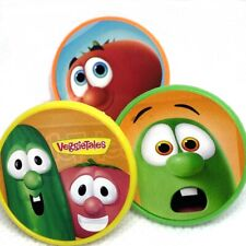 Veggie Tales Cupcake Toppers Cake Decorations Set of 15 Birthday Party Supplies