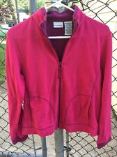 White Stag Women's Size Medium M 8/10 Pink And Purple Jacket Zip Up