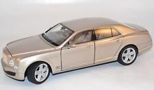 RASTAR Bentley Mulsanne Beige Metallic Color 1:18*New!