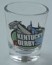 New 2000 Kentucky Derby 126 Horse Racing 1.5 oz Shot Glass-Fusaichi Pegasus