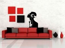 Wall Vinyl Sticker Decals Mural Design Listening Music DJ Soul Headphones #769